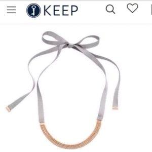 Jewelry - Keep collective jewelry grosgrain multichain neckl